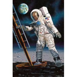 03702 REVELL Űrhajós a holdon ( Apollo 11 ) 1:8