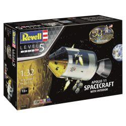 03703 Apollo 11 űrhajó belsővel (1:32)