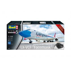 Revell 03836 Boeing 747-8F CARGOLUX not without my mask