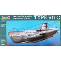 REVELL 05093 U-Boot Typ VIIC 1/350