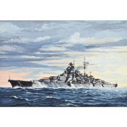 05098 Bismarck csatahajó - (1:700)