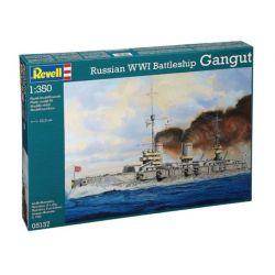 REVELL 05137 Gangut Orosz csatahajó 1/350