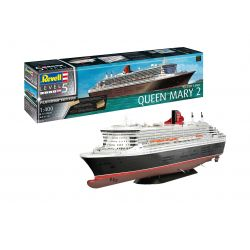 Revell 05199 Queen Mary 2 PLATINUM Edition