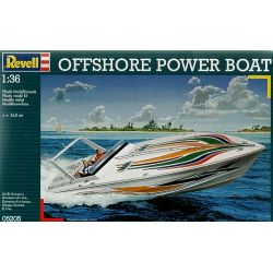 Revell 05205 Offshore Power Boat