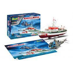 Revell 05683 Gift Set SAR Set - DGzRS Berlin + Westland Sea King Mk 41
