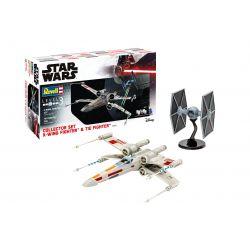 Revell 06054 Ajándék szett X-Wing Fighter + TIE Fighter
