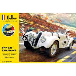 Heller 56782 BMW 328 Endurance kezdő szett