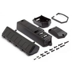 HPI 105690 BATTERY COVER/RECEIVER CASE SET