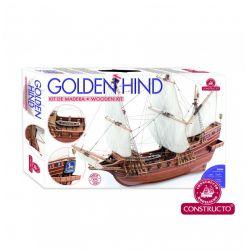 Constructo 80844 Golden Hind, fa hajómakett
