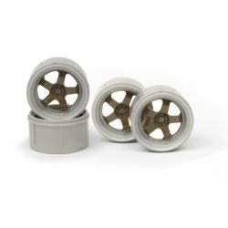 HPI 120171 WORK MEISTER S1 WHEEL OLIVE (MICRO RS4/4PCS)