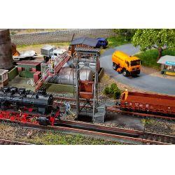 Faller 120242 Salakoló, aknával és motoros felvonóval (szervomotoros, patinásított)