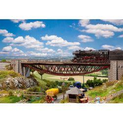 FALLER 120503 Íves vasszerkezetes vasúti híd