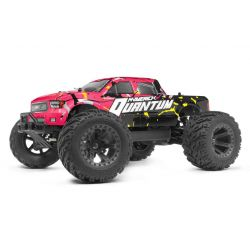 MAVERICK 150101 Quantum MT 1/10 4WD Monster Truck - Pink