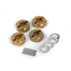Maverick 150184 Aluminum 12mm Wheel Hex Hub Set (4pcs)