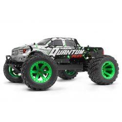 150203 Maverick Quantum MT Flux 80A 1/10 4WD Truck - Ezüst