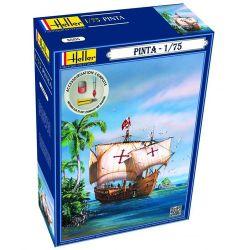 Heller 56816 PINTA Vitorlás hajó makett