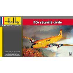 Heller 80330 DC6 Tűzoltó repülő