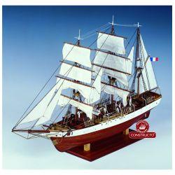 Constructo 80835 Le Pourquoi-Pas, fa hajómakett