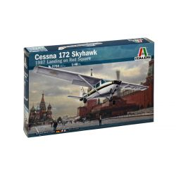 Italeri 2764 CESSNA 172 SKYHAWK 1987 LANDING ON RED SQUARE