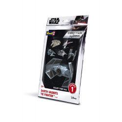 Revell 01102 Revell Star Wars Darth Vader TIE Vadász Easy-click