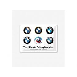 BMW - logo evolution fémtábla30x40 cm