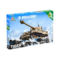Italeri 34103 Pzkfw. VI Tiger I Easy to build WoT 1:72