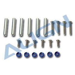 450V2 fém távtartók + csavarok