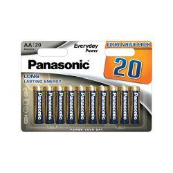 Panasonic AA ceruza elem - 20db