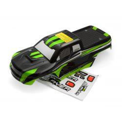 HPI 540039 Truck Body (black/green)