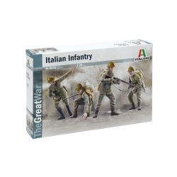 Italeri 6532 WWI ITALIAN INFANTRY