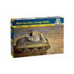 Italeri 6538 90mm GUN MOTOR CARRIAGE M36B1