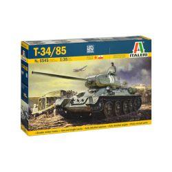 6545S ITALERI T34-85 Tank 1/35