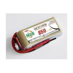 LiPo akkumulátor 2S 850mAh 7,4V 30C