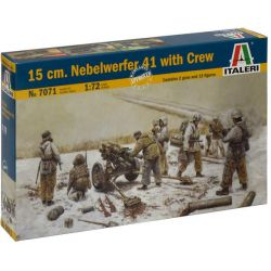 Italeri 7071 15 cm. NEBELWERFER 41 with CREW