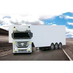 Mercedes Benz Actros fehér 1:32 27MHz Kamion