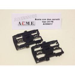 ACME 99026 Forgózsámoly MÁV CAF IC kocsikhoz, 2 db