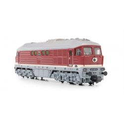 Arnold HN2299S Dízel mozdony BR 131 (001-022), DR, Ep IV, livery red with grey frame and small stripe (131 020) DC Digital with Sound
