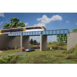 Auhagen 11442 Vasúti acélhíd