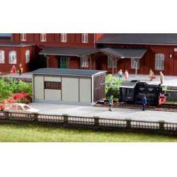 Auhagen 13333  Fűtőház Kö dízelmozdonyhoz TT