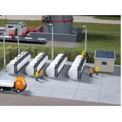 Auhagen 13335 Üzemanyagtartályok, 4 db