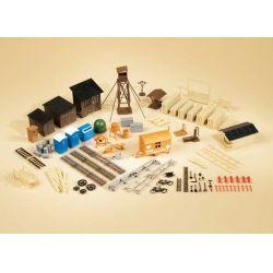 Auhagen 42652 Ipari kiegészítők, H0/TT