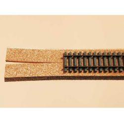 Auhagen 43562 Parafa ágyazat sínekhez, 50 cm, 4 db