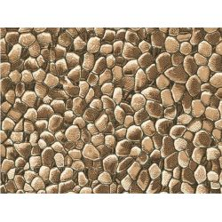 Auhagen 50103 Dekorlap (karton), terméskő fal, 220 x 100 mm, 5 db