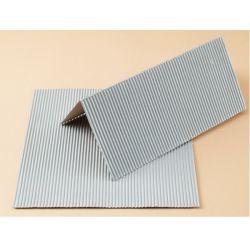Auhagen 50108 Dekorlap (karton), hullámlemez, eternit, 200 x 200 mm, 2 db