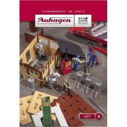 Auhagen 80004 Tervezési utmutató-4.szám /Planungshilfe - Heft 4/