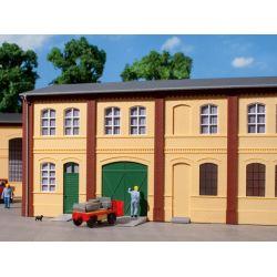 Auhagen 80607 Téglafal, 2322B/2322C/2323C, sárga