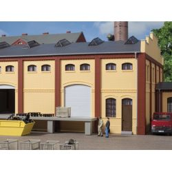 Auhagen 80620 Téglafal, 2410A/2410B/2410D, sárga