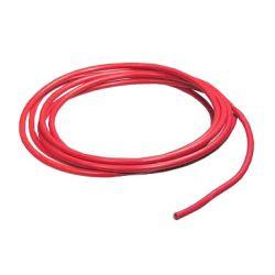 Szilikon kábel 12AWG 2mm, piros 1m