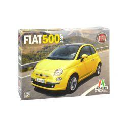 3647s ITALERI FIAT 500 (2007) 1:24