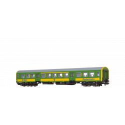 Brawa 65143  Személykocsi 1/2.o. AByee, Halberstadt, GySEV VI